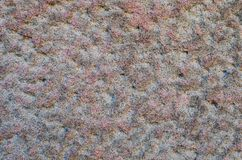 Pink sandstone texture in close up. royalty free stock photos