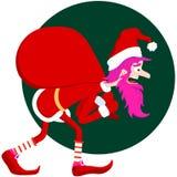 Pink Santa Stock Images