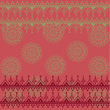 Pink saree background Royalty Free Stock Image