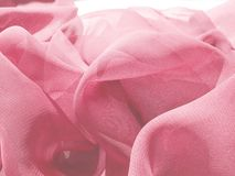 Pink satin abstract texture background Stock Photography