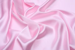 Pink satin background Royalty Free Stock Photos