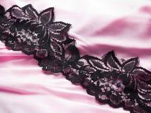 Pink satin Stock Photos