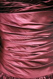 Pink Satin Ruched Bodice Stock Images