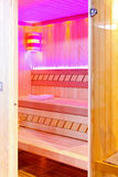 Pink sauna Royalty Free Stock Photo