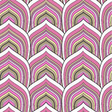 Pink scale pattern. Decorative pink scale seamless pattern Royalty Free Stock Image