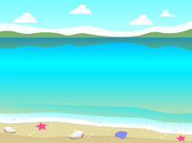 pink scallop seashell Стоковая Фотография RF