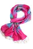 Pink scarf Stock Photos