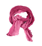 Pink scarf Stock Photography
