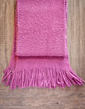 Pink scarf Royalty Free Stock Photography