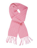 Pink scarf Royalty Free Stock Images