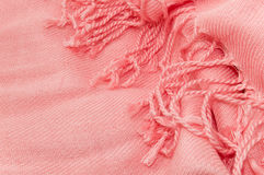 Pink scarf texture Royalty Free Stock Image