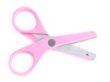 Pink scissors Stock Photo