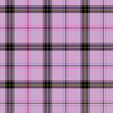 Pink scottish tartan Royalty Free Stock Image