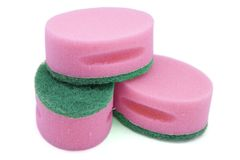 Pink Scourers Royalty Free Stock Photography