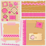 Scrapbook kit Royalty Free Stock Photo