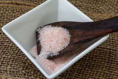 Pink Sea Salt Stock Photo