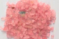 Pink sea salt Royalty Free Stock Photography