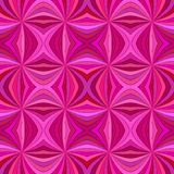 Pink seamless abstract hypnotic swirl burst stripe pattern background. Vector design stock illustration