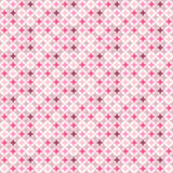 Pink seamless background. With circles Royalty Free Illustration