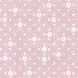 Pink seamless background with fabric texture Royalty Free Stock Photography