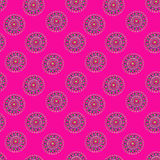 Pink seamless background for your design Royalty Free Stock Photos