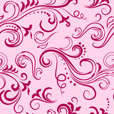 Pink seamless floral pattern Royalty Free Stock Images