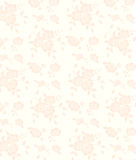 Pink seamless flower background Stock Images