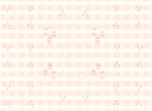 Pink seamless flower pattern Royalty Free Stock Photography
