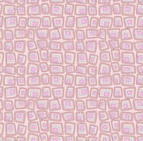 Pink seamless geometric pattern Stock Photos