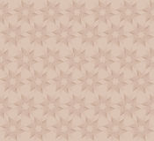 Pink seamless geometrical design, stars Stock Photos