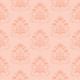 Pink seamless pattern Stock Photography