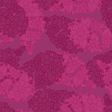 Pink seamless pattern background. Floral texture. Abctract flower vector. Textile blossom. Royalty Free Stock Images