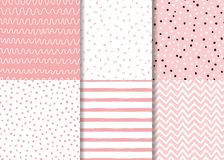 Pink seamless pattern drawn hand drawn kids style. Childish simple background vector. Set of simple pink seamless patterns Childish design Wallpaper for little vector illustration