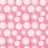 Pink Flowers Seamless Pattern Royalty Free Stock Photography