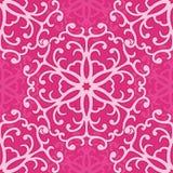 Pink seamless pattern Stock Photography