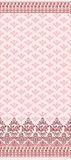 Pink seamless pattern with wide border Stock Photos