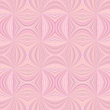 Pink seamless psychedelic abstract swirl ray burst stripe pattern background. Vector design vector illustration