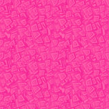 Pink seamless rectangle pattern Royalty Free Stock Photos