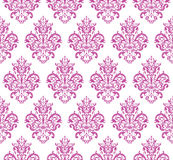 Pink Seamless Repeating Vector Pattern Royalty Free Stock Images