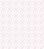 Pink Seamless Ribboned Pattern Stock Photography