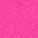 Pink seamless star pattern. Background Royalty Free Stock Image