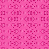 Pink seamless for Valentine day Stock Images