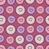 Pink seamless Stock Photo