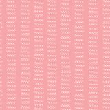 Pink seamless vector background hand drawn vertical lines. Hand drawn doodle strokes. Pink shades textured backgound. Abstract royalty free illustration