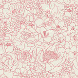 Pink seanless pattern Stock Photos
