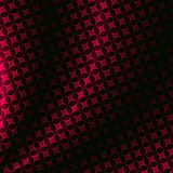 Pink selection. Pink-and-black patterned fabric with folds, fractal rendering Stock Photography