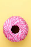 Pink sewing thread Stock Photography