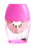 Pink sharpener for pencil Stock Images