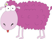 Pink sheep Molka Royalty Free Stock Photography