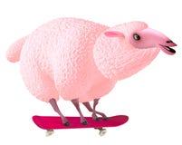 Pink sheep Royalty Free Stock Images